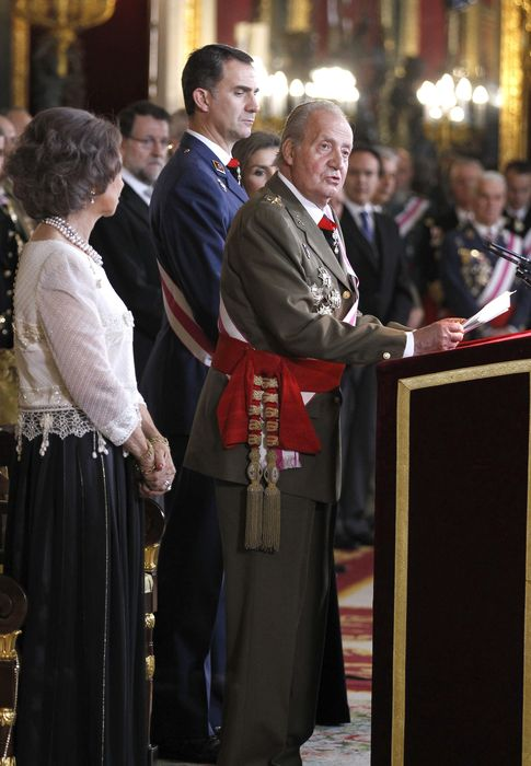Foto: El Rey en la Pascua Militar (I.C.)
