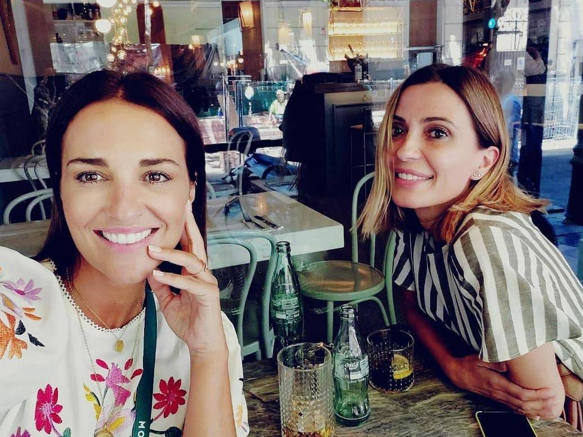 Foto: Paula Echevarría y Alicia Hernández. (Instagram)