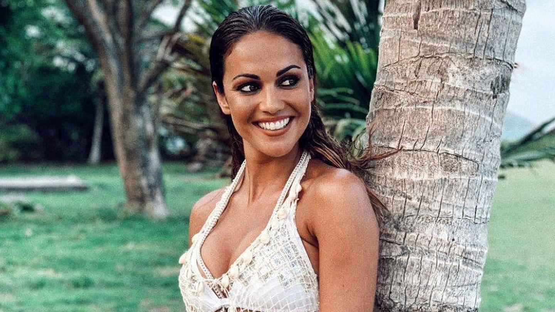 Lara Álvarez, en 'Supervivientes'. (Mediaset)
