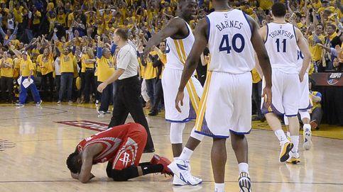El duelo entre Harden y Curry acaba con una pérdida que 'mata' a Houston