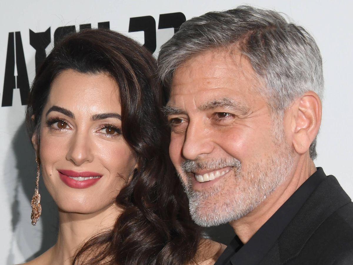 Foto:  Amal y George Clooney. (Getty)
