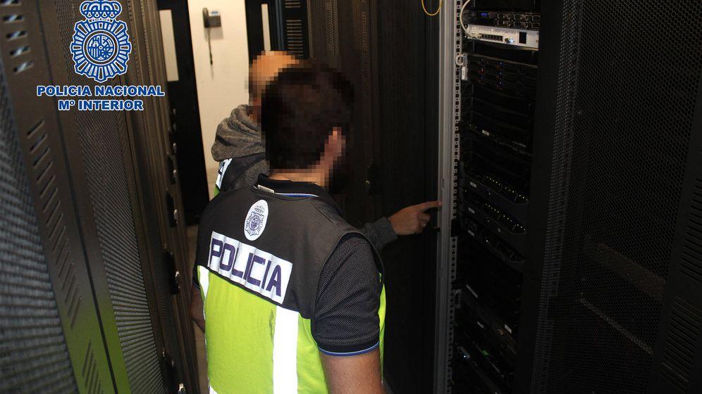 Foto: Operación de la Policía Nacional contra una red dedicada al blanqueo. (Policía Nacional)