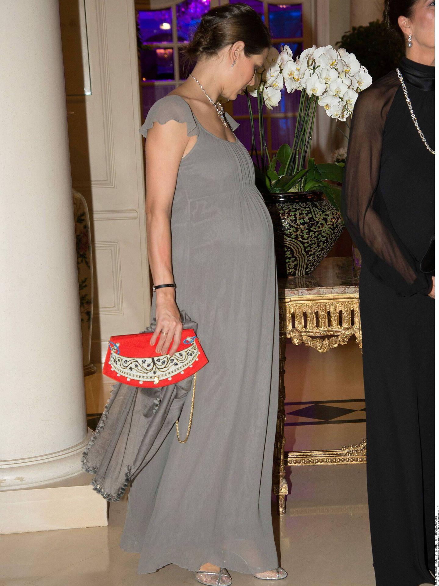 Carlota, embarazada de Raphael. (CP)