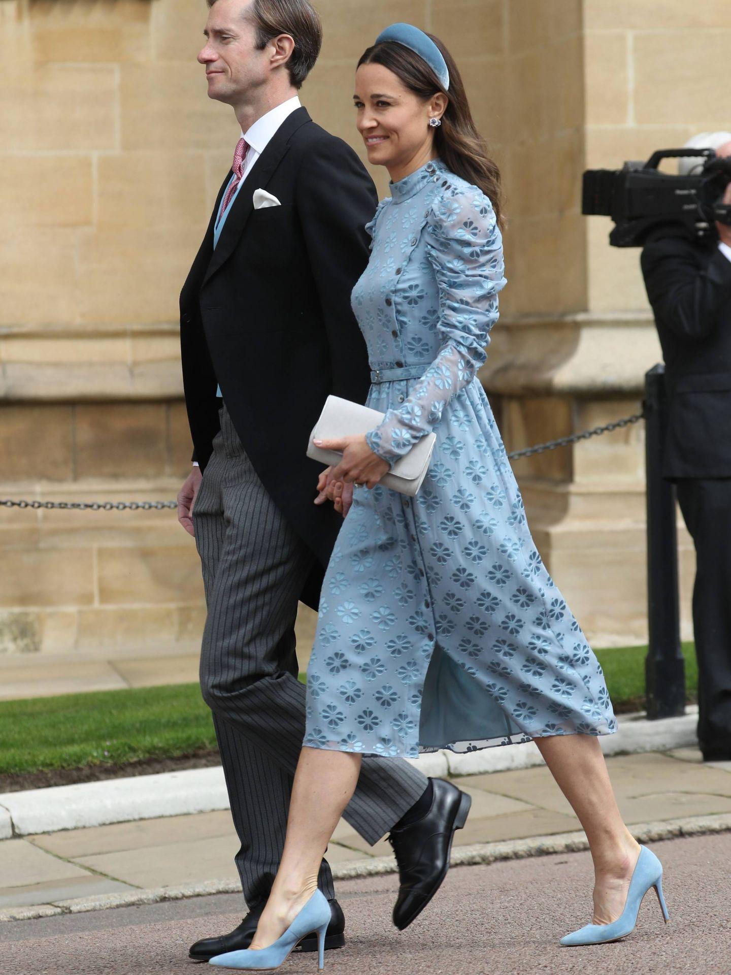 Pippa Middleton y James Matthews. (Cordon Press)