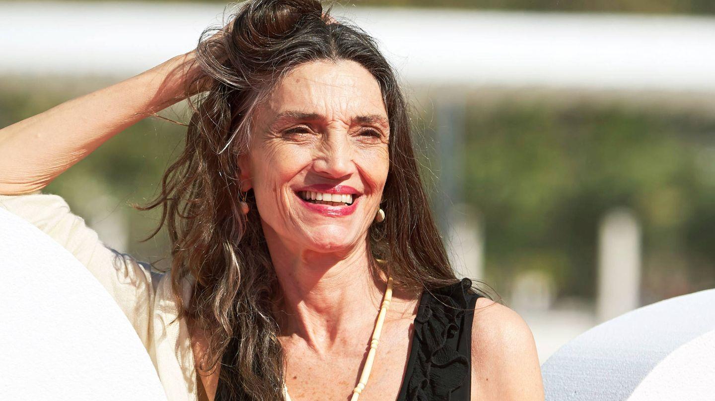 Ángela Molina, muy bella a los 63 años. (Getty)