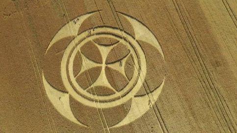 Aparece una gigantesca señal templaria sobre un campo en el norte de Francia