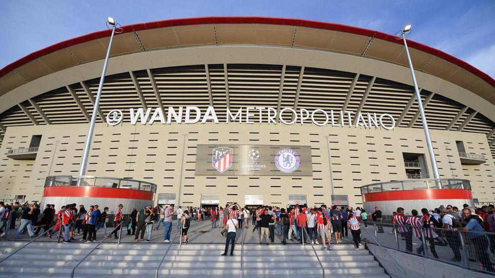 Wanda metropolitano detenido el agresor de un vigilante for Puerta 3 wanda metropolitano