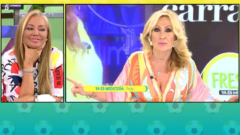 Rosa Benito, en 'Ya es mediodía'. (Telecinco)