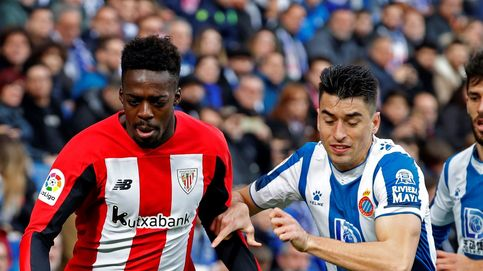 Pelea entre ultras antes del Espanyol-Athletic y gritos racistas a Iñaki Williams