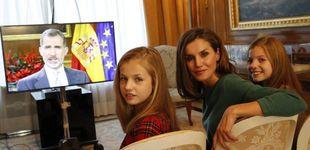 Post de Felipe VI se reúne hoy con el jefazo de Netflix: las series favoritas de los Reyes y sus hijas