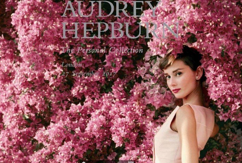 Guiones, tiaras y vestuario: los hijos de Audrey Hepburn subastan su ...