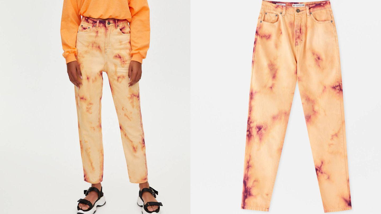 Nos rendimos ante estos pantalones de Pull and Bear. (Cortesía)