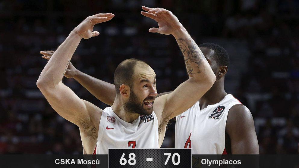 Spanoulis y el Olympiacos dan otra vez la campanada ante el CSKA en la F4