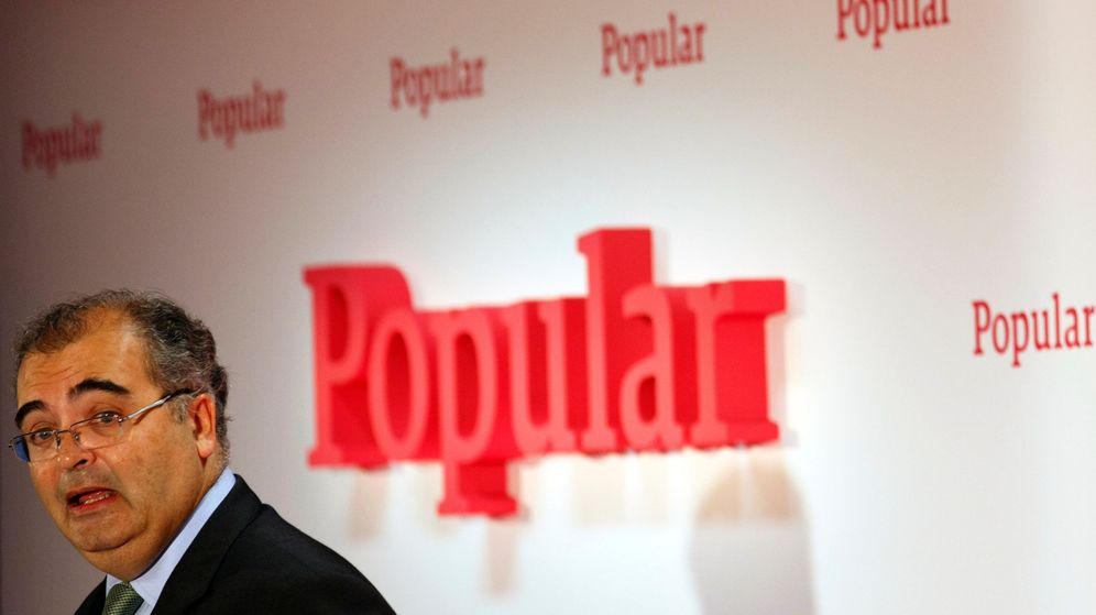 Foto: El presidente del Banco Popular, Ángel Ron. (Reuters)