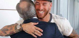 Post de Las dudas de Ramos hacia Florentino Pérez por 'rajar' de Zidane y compañía
