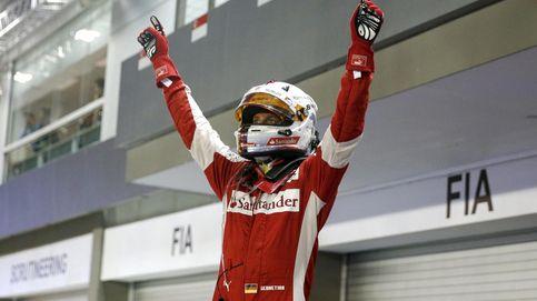 Vettel desbanca de manera clara a Mercedes y Alonso no logra la sorpresa