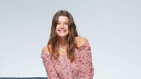 Esta blusa off-shoulder de Violeta by Mango es un tesoro top ventas de chicas curvy
