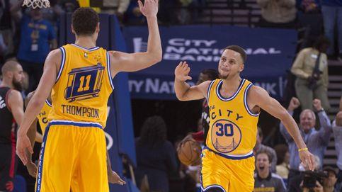 Los Warriors, camino de ser el primer equipo en anotar 1.000 triples en una temporada