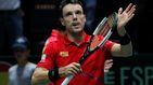 Palo para España en la Copa Davis: Roberto Bautista abandona por el estado de salud de su padre