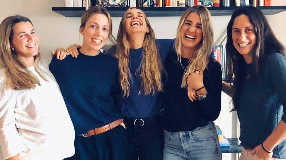 Foto: Algunas de las empresarias catalanas más exitosas. (Instagram Valentina Garí)