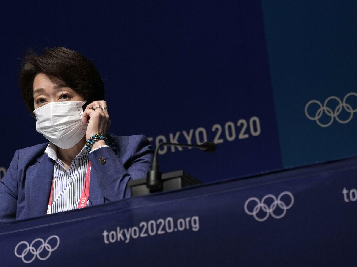 Foto: Seiko Hashimot, la presidenta del comité organizador de los juegos olímpicos. (Reuters)