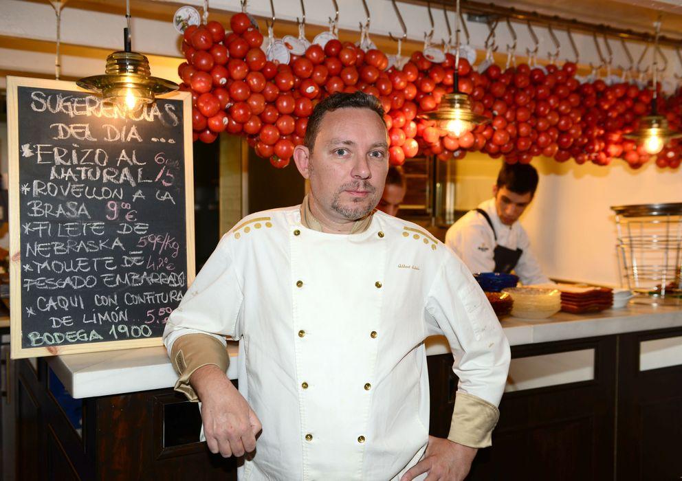 Foto: Albert Adriá en la presentación del libro 'Tapas, la cocina del Tickets' en Barcelona (Gtres)