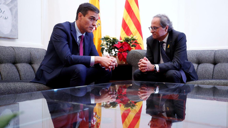 Sánchez y Torra celebrarán su reunión del día 6 a las 12:00 en el Palau de la Generalitat