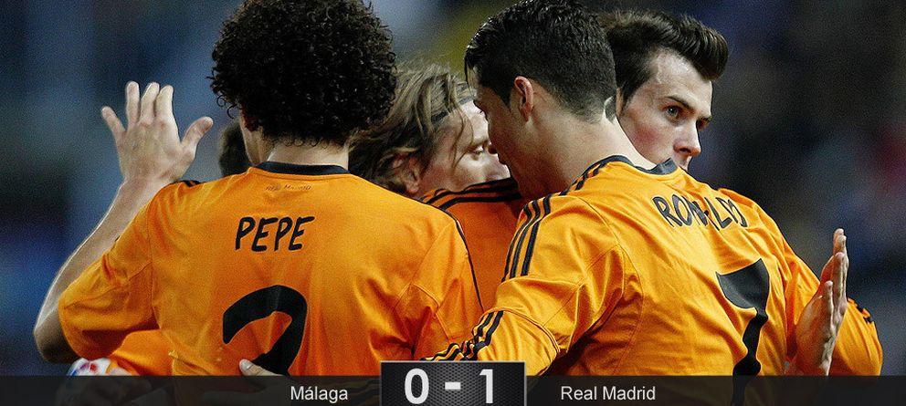 Foto: El Real Madrid sabe sufrir con un Cristiano que es más rebelde que todo el Málaga
