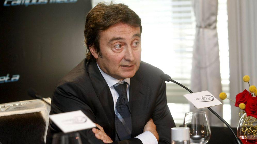 Foto: Adrián Campos, en una rueda de prensa (EFE).
