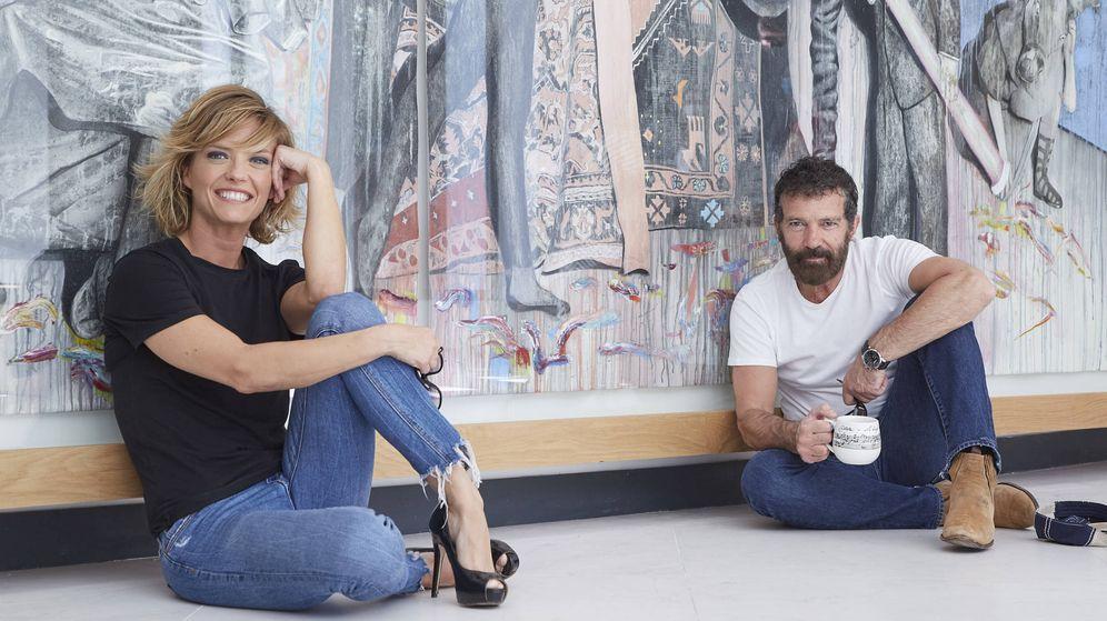 Foto: María Casado y Antonio Banderas. (Foto: Jesús Chacón)