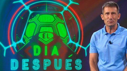 Carlos Martínez se queda sin palabras al ver la camiseta feminista del Barça