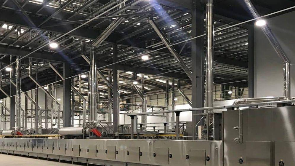 Foto: Planta de Cerealto Siro Foods en Worksop, Reino Unido. (AMC Architects)