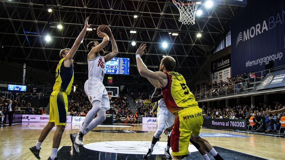 El Real Madrid sigue de fiesta y disfruta de su juego en Andorra