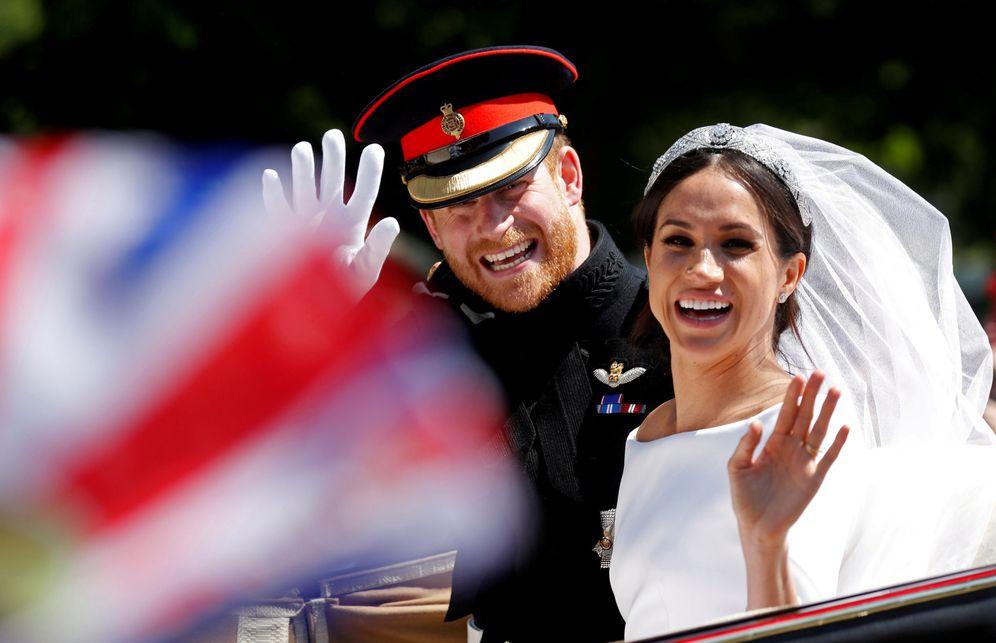 Foto: La actriz y el príncipe, en su boda el pasado 19 de mayo. (Reuters)