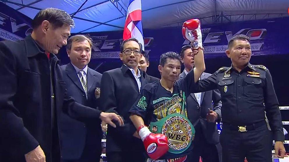 Chayaphon Moonsri, el tailandés que amenaza el récord de Mayweather