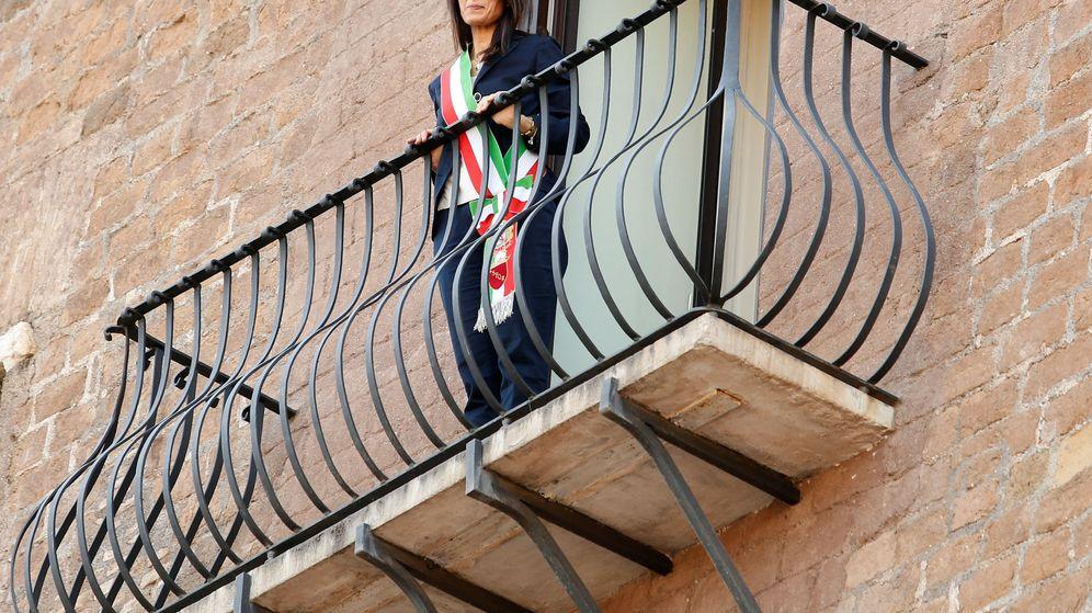 Foto: La alcaldesa de Roma, Virginia Raggi (REUTERS)