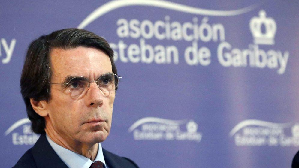 Foto: - El expresidente del Gobierno y presidente de la Fundación FAES, José María Aznar