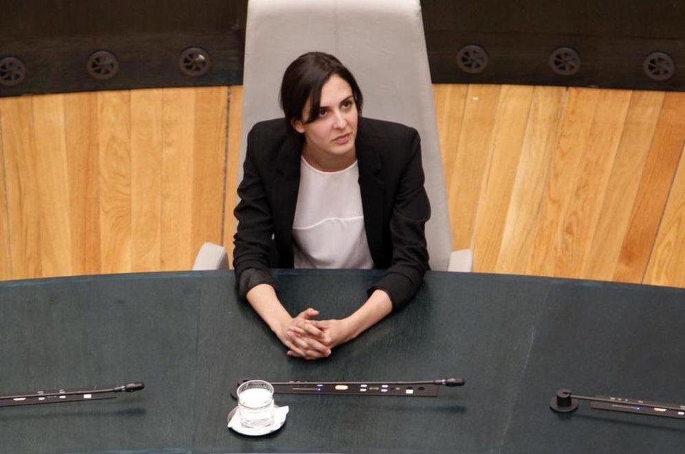 Foto: Rita Maestre, actual portavoz del Ayuntamiento de Madrid. (EFE)