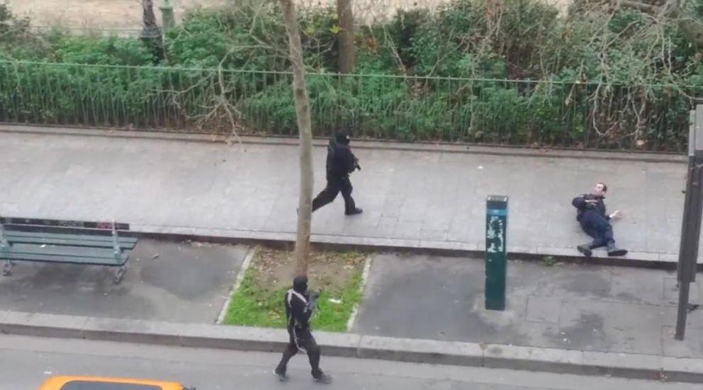 Foto: Ataque mortal contra el semanario Charlie Hebdo