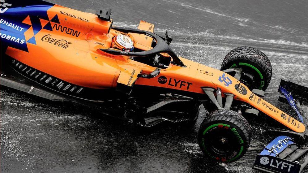 Foto: Con su quinto puesto final, Sainz está a tan solo siete puntos de Pierre Gasly (Red Bull) tras el GP de Alemania.