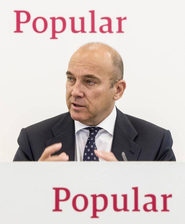 Foto: El dimitido consejero delegado del Banco Popular, Pedro Larena.