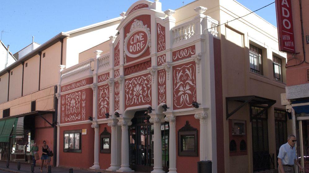 Foto: Fachada del Cine Doré, sala de proyección de la Filmoteca