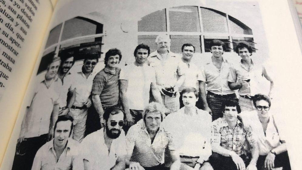 Foto: Foto del grupo Costa del Sol con policías de Gibraltar (Del libro 'Vivencias de un policía' de José Cabrera).