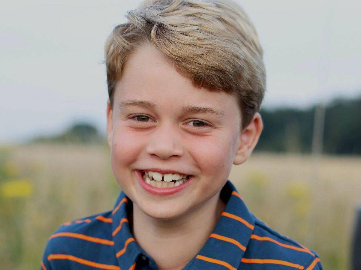 Foto: El príncipe George, en su retrato de su octavo cumpleaños. (Reuters)