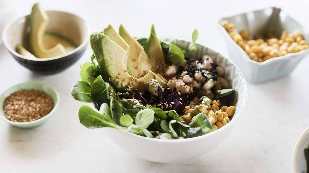 Foto: Una ensalada que es como una comida completa. (Foto: Snaps Fotografía)