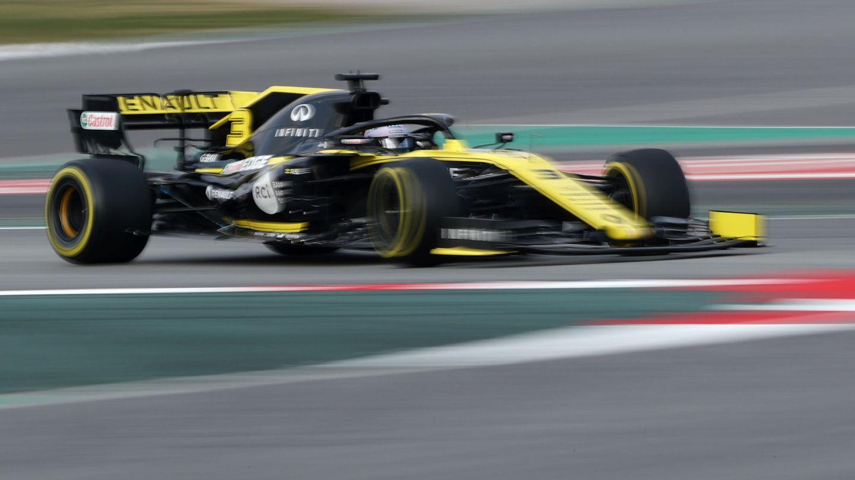 Ricciardo en acción con el RS19. (Reuters)