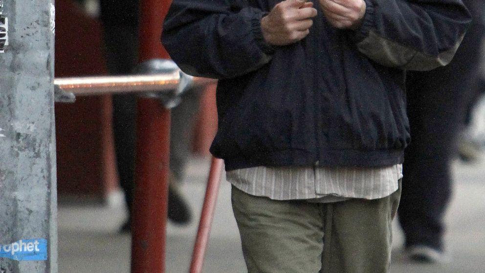Richard Gere, confundido con un sin techo