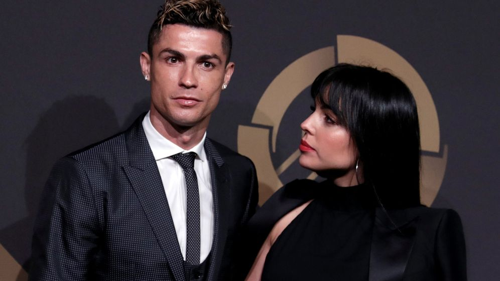 Foto: Cristiano Ronaldo y Georgina Rodríguez. (Reuters)