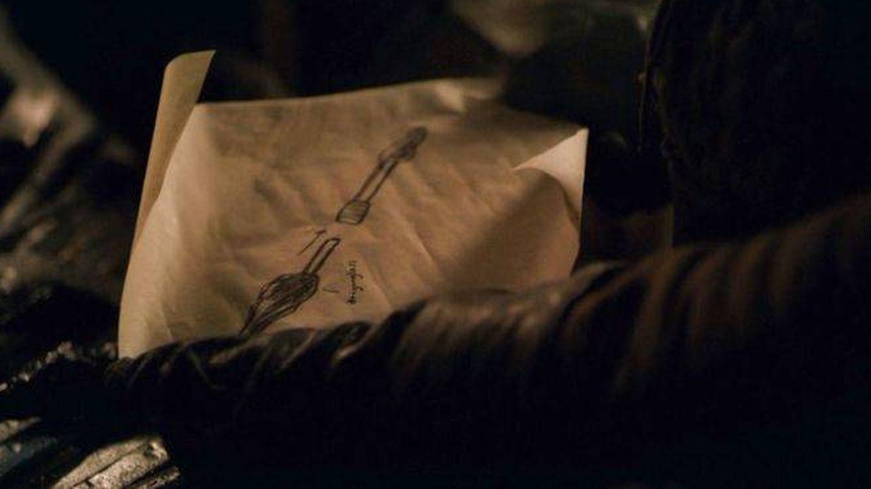Imagen del boceto de Arya Stark. (HBO)