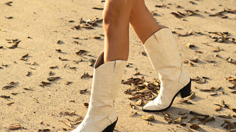 Instagram y Stradivarius: las botas cowboy blancas que triunfarán en primavera